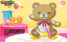 Clean Vintage Teddy Bear