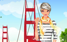 In Love With San Francisco Dressup