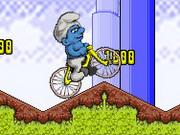 Smurf Bmx Bike