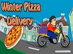 Winter Pizza Delivery